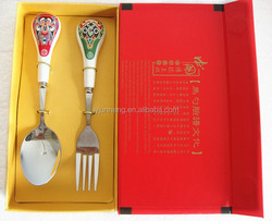 Chinese Spoon and Fork Brand Names Cutlery For Promotion