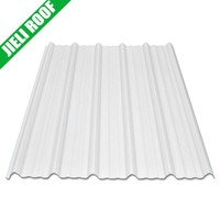 white color thermoplastic corrugated roofing