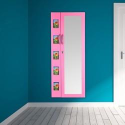 hanging full length wall mounted mirror jewellery organizer