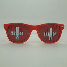 Supply logo Pinhole sunglasses Custom promotion sunglasses gift glasses with logo design