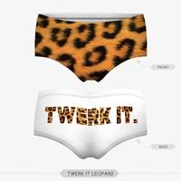 adult top hot sex panties pug dog cut cat sexy girls tight lingerie stretchy underpanties 3d digital full print custom hot sale