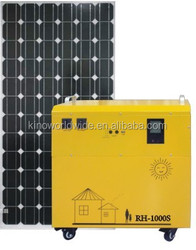 Solar Generator for TV and laptop, Portable Solar Generator with 100w solar panel ,Solar Power Generator for home and small shop