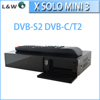 2015 hot sale for Italy Market! DVB-S2+T2/C twin tuner powerful CPU Digitale full hd receiver x solo mini3