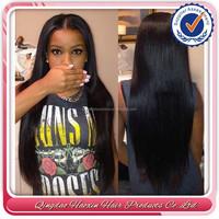 hot sell top quality Brazilian virgin hair long straight small head wig