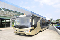 ODM OEM design airport electric seats passenger shuttle bus