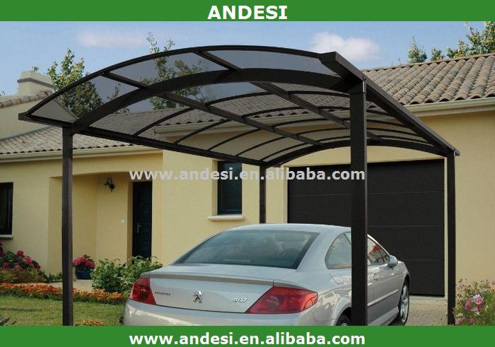 Aluminum Carport Panels : Mobile aluminum carport with polycarbonate sheet buy