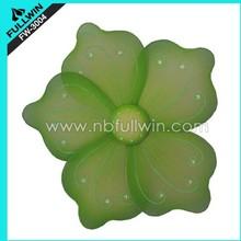 flower shape sparkling LED carnival decoration wings