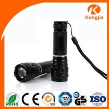 AAA High Lumen Flashing Strobe Light Battery Rechargeable Flashlight Led Torch