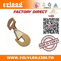 5000 KGS 50mm Commercial Twisted Steel Snap Hooks with Keeper