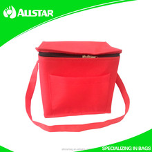 2015 New Style!Customized Promotional Insulated Non Woven Lunch Cooler Bag Cooler Lunch Bag