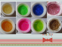 Lulu Nail UV gel glitter powder gel polish for nails nail supplies from China