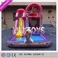 Inflável water slide com piscina,baratos inflável da corrediça de água para a venda