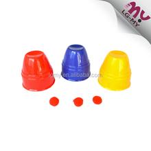 Plastic Magic Cups And Balls Close-up Small Magic Ball Trick