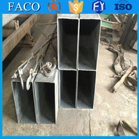 Tianjin square rectangular pipe ! bs en 10225 welded tube cold roll rectangular black steel pipe