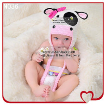 Wholesale Baby Crocheted Hat Children Animal Hats