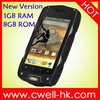 """Jeep Z6+ MTK6582 Quad Core """"Rugged Android cell phone 4 inch touch screen"""