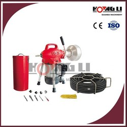 D75 electric toilet drain cleaner/drain cleaner machines for sale