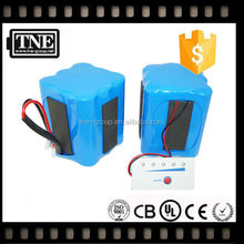 HOT JAPAN OEM factory 12v/11.1v lithiumled Square lithium ion battery 12v 6ah for alarm,secuity,led light