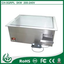 shenzhen manufactuer china hamburger grill machine