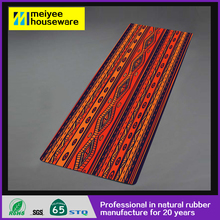 61*173cm printed fashion natural rubber yoga mat,floor pad,home body exercise