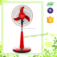 16 inch solar dc stand stand air cooler pedestal fan brand electric stand fan with timer