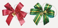 MSD Hot sale plastic ribbon bow, christmas ribbon bow decoration