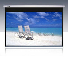 120 Inch Manual Projector Screen/matte White Pull Down Projector Screen