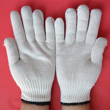 poly cotton knitted mechanical work gloves