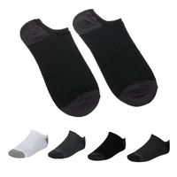 Socks Men Hot-sell Classic Male Brief 100% Cotton Invisible Man Slippers Shallow Mouth Sock 10 Pairs/Package Wholesale