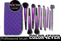 2014 New Arrival beauty Needs top quality 11pcs makeup brushes free samples