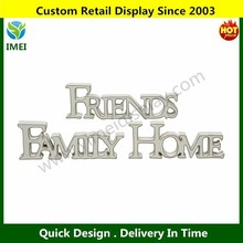 carved wood sign sayings/ home/ frineds/ family/ decoration wood sign 20x7cm YM3-015