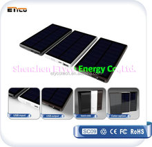 innovation hot selling product 2015 5000mAh solar ultra slim power bank