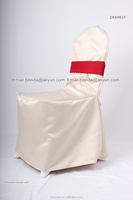 100%polyester visa chair covers,hotel/banquet/wedding chair covers,Satin sash