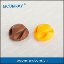 boomray factory 2014 promotional TPR colorful multipurpose cable management sovenier gift