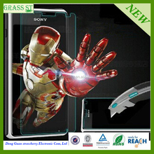 mobile phone accessories factory in china tempered glass screen protector for Sony E4G