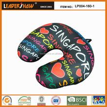 colorful fashion U-shape neck pillow