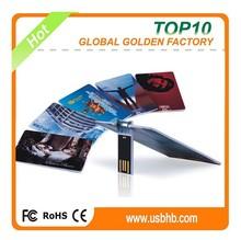 2015 hot selling flip card usb flash drive bulk cheap