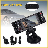 2.7 inch screen 180 degree lens rotation dual camera car dvr full hd 1080p car camera recorder, Car security camera