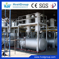 Environmental waste tyre pyrolysis plant, plastic pyrolysis plant for sale