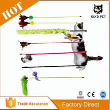 2015 popular china wholesale pet toys cat playing rod