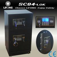 Excellent crown security safe box, bank use safe