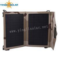 7 Watt Folding Solar Panel Charger USB Solar Charger Bag for Smart Mobile Phone