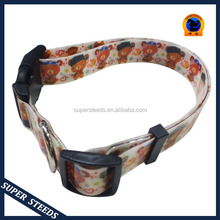 TPU pet collar with plastic buckle