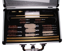 Gun Cleaning Kit with Aluminum Case