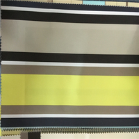 high quality 100% polyester man-made silk polyester fabric for sofa curtains/latest design&popular african curtain sofa fabric