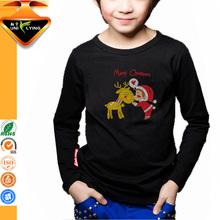 Cartoon christmas design christmas t shirts for children