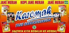 Jahe Merah Karomah Original dan plus SUSU