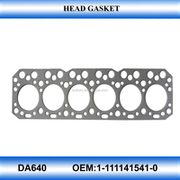 for auto parts DA640 head top gasket cylinder head gasket kit