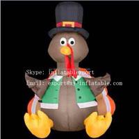 christmas turkey toy giant inflatable turkey decorations