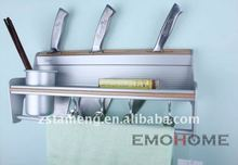 Knives rack in kitchen